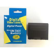 Bateria Np F960 F970 De Longa Duração Pd170 Z1, Z5, Z7, Nx5