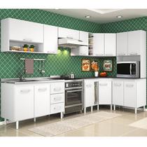 Cozinha Completa Modulada Branco 10 Pecas Peter Promocao