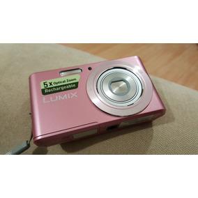 Remato Camara Panasonic Dmc-f5 14,1mpx Zoom 5x Video Hd Rosa