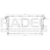 Radiador Ram 94-02 L6 5.9 Lts Diesel Estandar