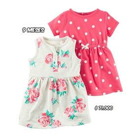 Carters - (2) Vestidos Niña 9 Meses