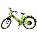 Bicicleta Elétrica Daytona 800w 48v 12ah Verde