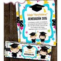 Kit Imprimible Graduación Super Barato Invitación Fiesta