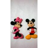 Molde De Caucho De Silicona Flexible Minnie O Mickey