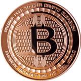 Medalla Cobre Bitcoin 1 Onza !!!