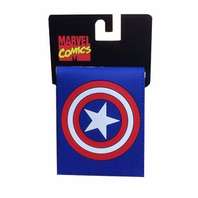 Cartera Billetera Capitan America Bioworld