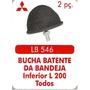 Batente Da Bandeja Inferior L-200, 02 Peças
