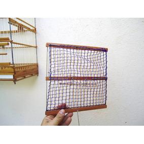 Alçapão De Rede Médio - 23x23cm Curió Coleiro