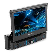 Dvd Retratil 7 Polegadas Positron Sp6320 Usb + Câmera