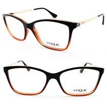 Armação Feminina Para Óculos De Grau Vogue Original - Vo5043