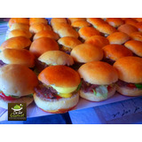 Mini Hamburguesas Lomitos Y Churrascos, Cocteleria Defer