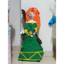 Piñata Princesa Mérida De Valiente