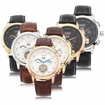 Reloj Jaragar Lujo Hombre Automatico Moda Envio Gratis