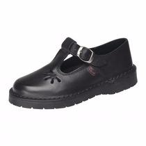 Zapatos Colegio Guillermina Marcel Cuero 34/40 Niz´scalzados
