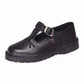 Zapatos Colegio Guillermina Marcel Cuero 34/40 Art 904cu