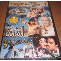Dvd German Valdez Tin Tan 3 Peliculas Sanson Las Mil Y Los 3