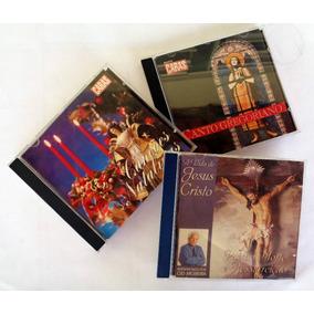 Cds Orig Canções Natalinas Cantos Gregorianos Vida De Jesus
