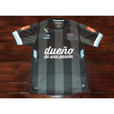 Camiseta De Racing Topper Alternativa.2014 Negra -talle L