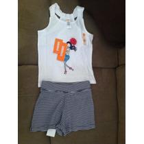 Hermoso Conjunto De Shorts Y Camiseta Marca Gymboree