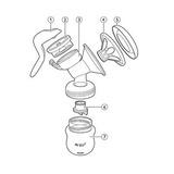 Repuesto Para Extractor Manual Avent Comfort Corneta