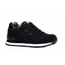 Zapatillas New Balance 574 Mujer Negras