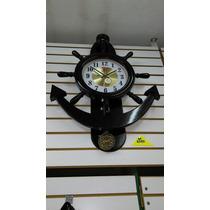 Reloj Modelo Ancla Grande Con Péndulo