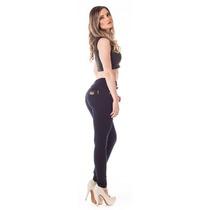 Calça Jeans Feminina Cigarrete Up Fit Alta Skinny - Seven Bl