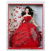Juguete Barbie Collector 2012 Holiday Muñeca De Mattel