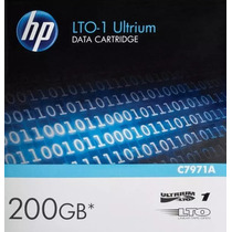 Cartucho De Datos Hp C7971a Lto-1 100gb 200gb Ultrium Factur