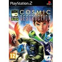 Jogo Patch Ben 10 Ultimate Alien Cosmic Destruction Ps2 Ps 2