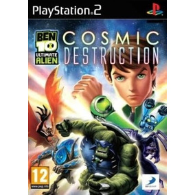 Jogo Patch Ben 10 Ultimate Alien Cosmic Destruction Ps2 Ps 2