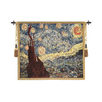 Tapete De Pared Van Goghs Starry Night, , 26 X33