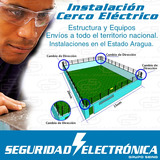 Kit De Cercos Eléctricos Instalación