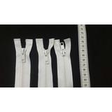 Cierre Plastico Separable Blanco 50cm