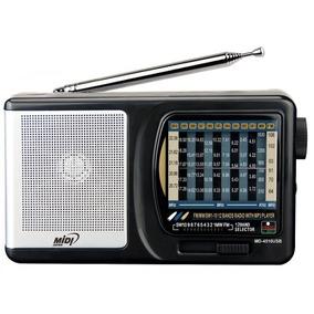 Radio Midi Japan Md 4510usb 12bandas Entrada Usb Sdcard Mp3!