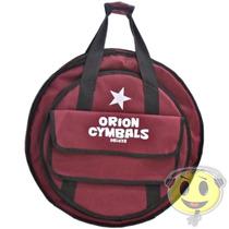 Gig Bag Capa Pratos De Bateria Orion Deluxe 22 - Kadu Som