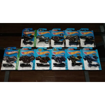 Hot Wheels Batman Batimovil Batmobile Set 11 Piezas Hw City