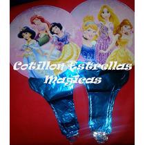 Princesas Disney Globos Metalizados Cotillon Deco Cumpleaño