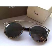 Lentes De Sol Christian Dior So Real Gold, Silver,black
