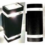 Aplique Bidireccional Aluminio Intemperie Dicroica Led **!!