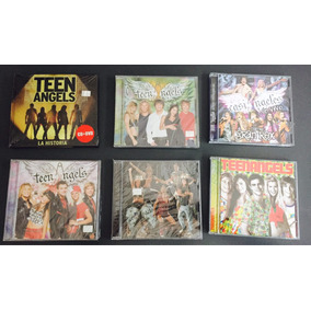 Lote Discos De Teenangels / Casi Angeles Nuevos Con Celofan