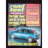 Road Test 90 4/98 Fiat Palio Base Audi A3 1.8 Turbo Ford Foc