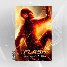 Poster The Flash Filme Game Igw Seriado Tv Ativo Decor Casa