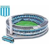 Maqueta Estadio Racing 3d Para Armar - Local Y Envios