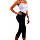 Calça Bermuda Anticelulite Fitness Cristais De Biocerâmica