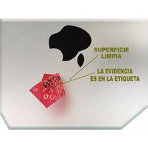 Etiquetas De Seguridad 200 Piezas. $ 1.60 Neto Con Folio.