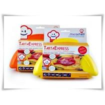 Tarta Express - Molde Tarta Tortilla Omelette P/ Microondas
