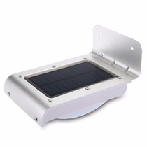Lámparas Led Solar Recargable 16w Sensor Movimiento