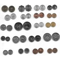 Interesante Lote De 20 Monedas Extranjeras Sin Circular # 2