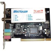 Placa Pci Sintonizadora Tv/radio Multilaser